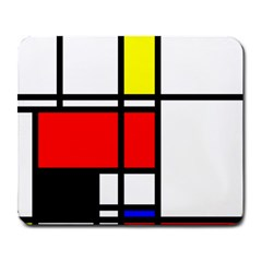Mondrian Large Mouse Pad (rectangle) by Siebenhuehner
