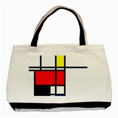 Mondrian Classic Tote Bag by Siebenhuehner