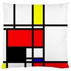 Mondrian Large Cushion Case (single Sided)  by Siebenhuehner