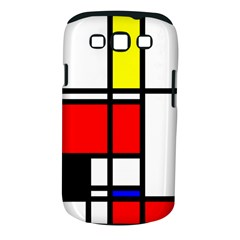 Mondrian Samsung Galaxy S Iii Classic Hardshell Case (pc+silicone) by Siebenhuehner