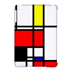 Mondrian Apple Ipad Mini Hardshell Case (compatible With Smart Cover) by Siebenhuehner