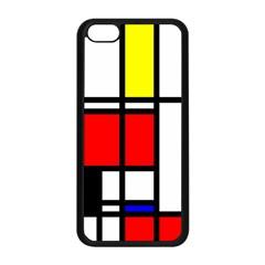Mondrian Apple Iphone 5c Seamless Case (black) by Siebenhuehner
