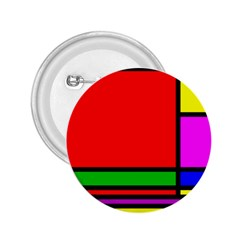 Mondrian 2 25  Button by Siebenhuehner
