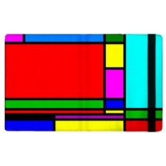 Mondrian Apple Ipad 3/4 Flip Case by Siebenhuehner