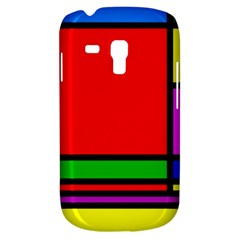 Mondrian Samsung Galaxy S3 Mini I8190 Hardshell Case by Siebenhuehner