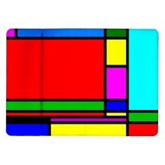 Mondrian Samsung Galaxy Tab 10 1  P7500 Flip Case by Siebenhuehner