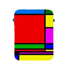 Mondrian Apple Ipad Protective Sleeve by Siebenhuehner