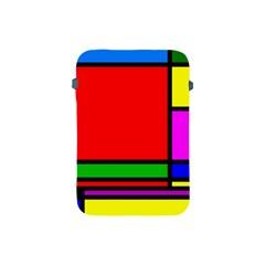 Mondrian Apple Ipad Mini Protective Sleeve by Siebenhuehner