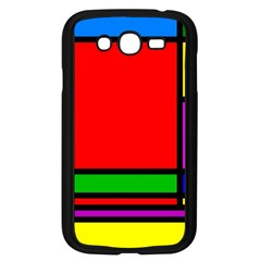 Mondrian Samsung Galaxy Grand DUOS I9082 Case (Black)