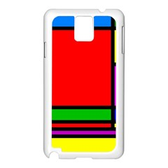 Mondrian Samsung Galaxy Note 3 N9005 Case (white) by Siebenhuehner