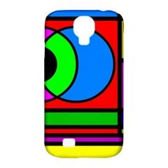 Mondrian Samsung Galaxy S4 Classic Hardshell Case (pc+silicone) by Siebenhuehner