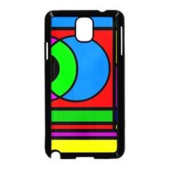 Mondrian Samsung Galaxy Note 3 Neo Hardshell Case (black) by Siebenhuehner