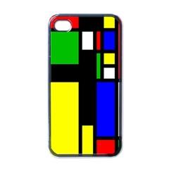 Abstrakt Apple Iphone 4 Case (black) by Siebenhuehner