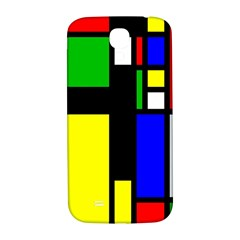 Abstrakt Samsung Galaxy S4 I9500/i9505  Hardshell Back Case by Siebenhuehner
