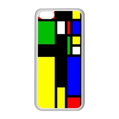Abstrakt Apple Iphone 5c Seamless Case (white) by Siebenhuehner