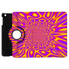Psycedelic Warp Apple Ipad Mini Flip 360 Case