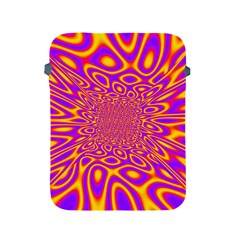 Psycedelic Warp Apple Ipad Protective Sleeve by SaraThePixelPixie