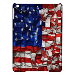 American Flag Blocks Apple Ipad Air Hardshell Case by bloomingvinedesign