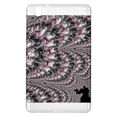 Black Red White Lava Fractal Samsung Galaxy Tab Pro 8 4 Hardshell Case by bloomingvinedesign