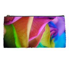 Rainbow Roses 16 Pencil Case by bloomingvinedesign
