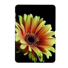 Yellow Orange Gerbera Daisy Samsung Galaxy Tab 2 (10 1 ) P5100 Hardshell Case  by bloomingvinedesign