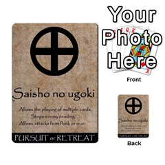 Seven Spears Shimazu Otomo Basic By T Van Der Burgt   Multi Purpose Cards (rectangle)   F0ezacmadbda   Www Artscow Com Back 24