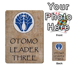 Seven Spears Shimazu Otomo Basic By T Van Der Burgt   Multi Purpose Cards (rectangle)   F0ezacmadbda   Www Artscow Com Back 45