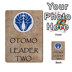 Seven Spears Shimazu Otomo Basic By T Van Der Burgt   Multi Purpose Cards (rectangle)   F0ezacmadbda   Www Artscow Com Back 46