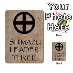 Seven Spears Shimazu Otomo Basic By T Van Der Burgt   Multi Purpose Cards (rectangle)   F0ezacmadbda   Www Artscow Com Back 50