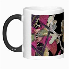 Floral Arabesque Decorative Artwork Morph Mug by dflcprints
