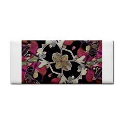 Floral Arabesque Decorative Artwork Hand Towel by dflcprints