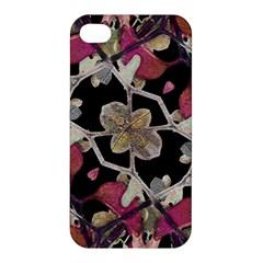 Floral Arabesque Decorative Artwork Apple Iphone 4/4s Premium Hardshell Case