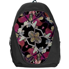 Floral Arabesque Decorative Artwork Backpack Bag by dflcprints