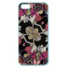 Floral Arabesque Decorative Artwork Apple Seamless Iphone 5 Case (color)