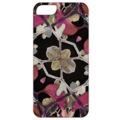Floral Arabesque Decorative Artwork Apple Iphone 5 Classic Hardshell Case by dflcprints