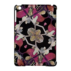Floral Arabesque Decorative Artwork Apple Ipad Mini Hardshell Case (compatible With Smart Cover)