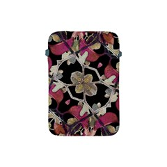 Floral Arabesque Decorative Artwork Apple Ipad Mini Protective Sleeve by dflcprints