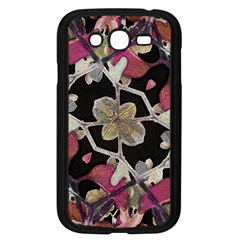 Floral Arabesque Decorative Artwork Samsung Galaxy Grand Duos I9082 Case (black) by dflcprints