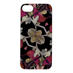 Floral Arabesque Decorative Artwork Apple Iphone 5s Hardshell Case by dflcprints