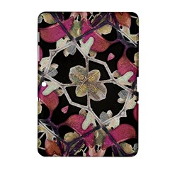 Floral Arabesque Decorative Artwork Samsung Galaxy Tab 2 (10 1 ) P5100 Hardshell Case  by dflcprints