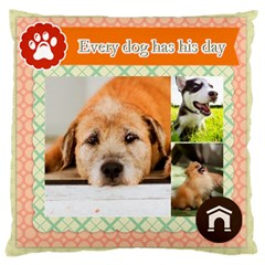 Pet By Pet    Large Cushion Case (two Sides)   7kqvbgmdlkgk   Www Artscow Com Front