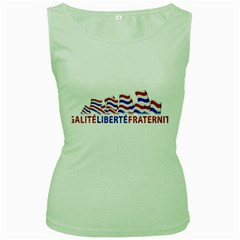 Bastille Day Women s Tank Top (green) by dflcprints