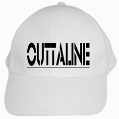 Outtaline White Baseball Cap by KhaosUnlimited