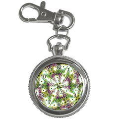 Neo Noveau Style Background Pattern Key Chain Watch by dflcprints