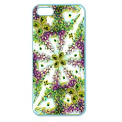 Neo Noveau Style Background Pattern Apple Seamless Iphone 5 Case (color) by dflcprints