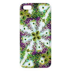 Neo Noveau Style Background Pattern Apple Iphone 5 Premium Hardshell Case by dflcprints