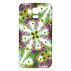 Neo Noveau Style Background Pattern Samsung Galaxy S5 Back Case (white)