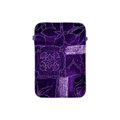 Pretty Purple Patchwork Apple Ipad Mini Protective Sleeve by FunWithFibro
