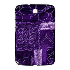 Pretty Purple Patchwork Samsung Galaxy Note 8 0 N5100 Hardshell Case  by FunWithFibro