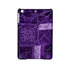 Pretty Purple Patchwork Apple Ipad Mini 2 Hardshell Case by FunWithFibro